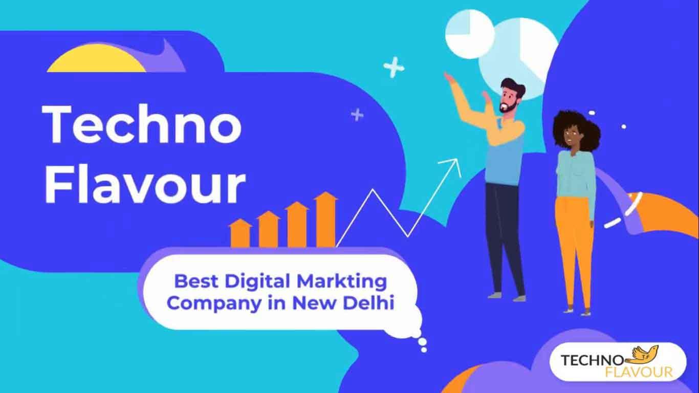1 TechnoFlavour Best Digital Marketing Company in New Delhi Digital Marketing Company